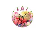 """Часы настенные кухонные """"Роза"""" Your Time"""