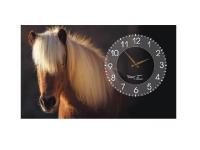 """Настенные дизайнерские часы """"Лошади"""""""