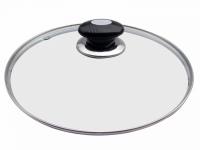 Крышка для сковородок стеклянная 24 см