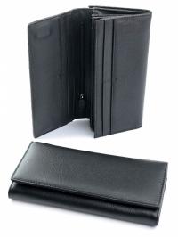 Коричневый женский конверт-кошелек
