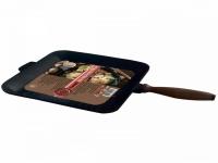 Сковорода чугунная литая квадратная