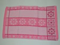 """Полотенце кухонное """"Кленовый лист розовый"""""""
