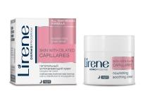 Питательный успокаивающий крем для капиллярной кожи, Lirene