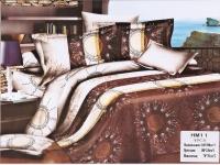 """Полуторное постельное белье, 3D  """"Небесная картина"""""""