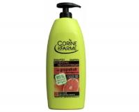 Шампунь регулирующий с грейпфрутом и листьями мяты, Corine de Farme